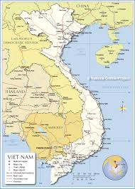 Michigan Area Code Map Political Map Of Vietnam Nations Online Project