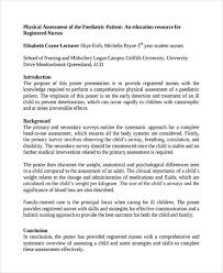 34 nursing assessments examples u0026 samples