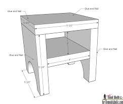 How To Make A Nightstand Out Of Wood by Fabulous Dimensions Of A Night Stand Dimensions For This Project