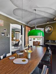 colorful eclectic interior design is collage travels and memories