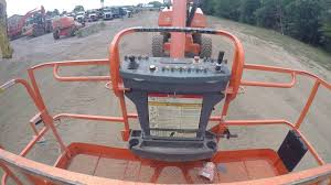 2011 jlg 800a lift boom youtube