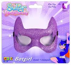 batgirl halloween costume accessories amazon com my super best friends batgirl glitter eye mask toys