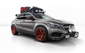 mercedes rally the closest thing to a gla45 amg rally car
