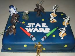 Mark Of A Jedi Light Saber Darth Vader And Birthday Cakes