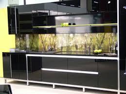 Black Gloss Kitchen Cabinets Amusing Shape Black Kitchen Black Gloss Kitchen Cabinets