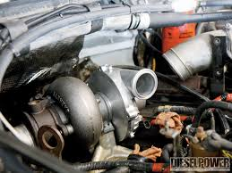 ford power stroke turbo upgrade more hp less egt diesel power