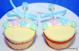 rattle cupcakes baby shower 4upside down baked for you