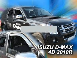wind deflectors for isuzu d max 1 8dh 2006 2012 pick up 4doors
