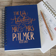 in memory of gifts personalised personalised wedding gift memory book by so they made