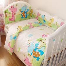 Infant Crib Bedding Baby Crib Bedding Sets 100 Cotton Reactive Printing Baby