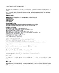 Sample Art Resume by Musician Resume Examples