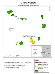 Cabo Verde Map Cdc Malaria Travelers Malaria Information And Prophylaxis