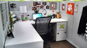 cubicle decorating imanada simple white theme for office room with