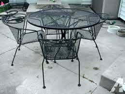 Wrought Iron Patio Chairs Rod Iron Patio Furniture Icedteafairy Club