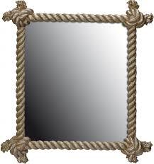 nautical mirror vanity decoration