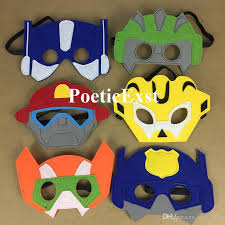 transformer rescue bots party supplies transformers rescue bots masks character felt mask
