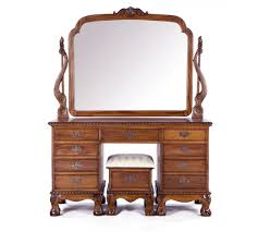 antique dressing table with mirror dressing table with mirror