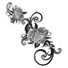 rose tribal tattoo designs simple pictures to pin on pinterest