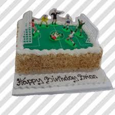 football cakes soccer pitch cake thunders bakery