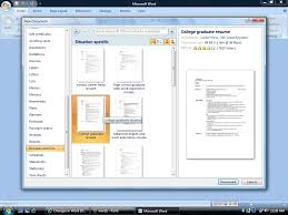 how to find the resume template in microsoft word 2007 79 amazing