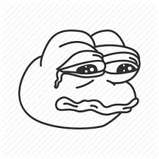 Meme Icon - crying frog funny meme pepe reaction sad icon icon search
