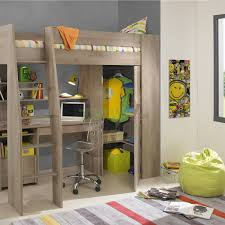 bunk bed with desk underneath for your kids u0027 compact room