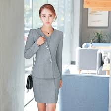 styles of work suites plus size formal professional uniform styles business work suits