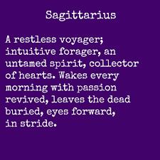 poems of the zodiac sagittarius astrologically speaking