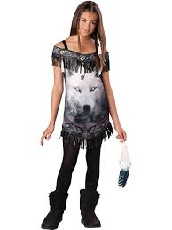 amazon com tribal spirit tween costume medium clothing
