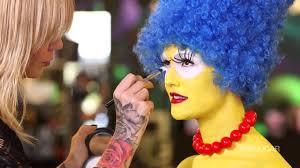 Marge Simpson Halloween Costume Marge Simpson Mac Makeover Halloween