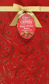 amazon com loc maria milk crepes belgian chocolate biscuits in a