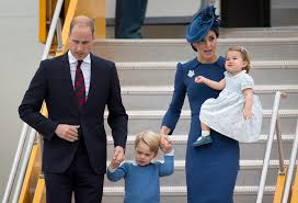 prince william kate arrive in canada with 2 young children wtop