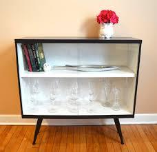 Glass Door Bookshelf Bookcase With Glass Doors Fancy Home Design