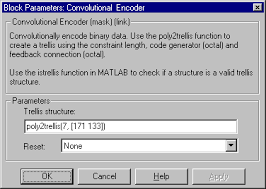 Trellis Encoder Getting Started With The Communications Blockset Communications
