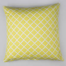 trellis cushion cover and feather pad by addie u0026 harry