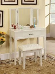 Vanity Table And Bench Set Furniture Classic Bedroom Vanities For Nice Bedroom Beautiful