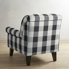 Gingham Armchair Lyndee Buffalo Check Black Chair Pier 1 Imports