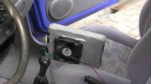 The Car Interior Preheater Diy Home Made Air Cooler That Actually Works For 45 Youtube