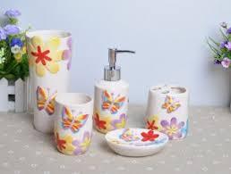waverly pom pom play 6 pc bath accessory set bath accessories