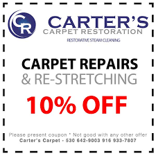 Rug Doctor Discount Coupons Carpet Cleaning Coupons Carter U0027s Carpet Restoration