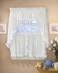 Ruffled Kitchen Curtains by Kitchen U0026 Tier Curtains Curtainshop Com