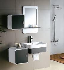 Contemporary Bathroom Vanity Cabinets Contemporary Bathroom Vanity From Lasa Idea Small Bathroom Design
