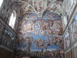 the smell of the sistine chapel linesfromlyon