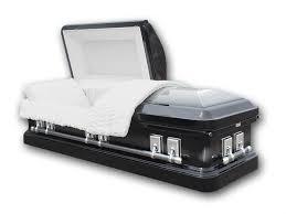 black caskets 18 steel casket discount funeral caskets online