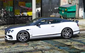bentley sport coupe bentley supersport 2017 1 0 add on replace gta5 mods com
