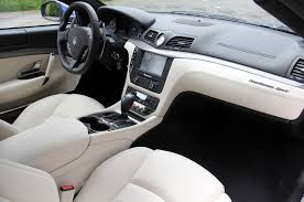 maserati quattroporte interior black maserati granturismo sport can you feel it