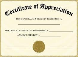 appointment certificate template certificate of appreciation templates pdf word get calendar