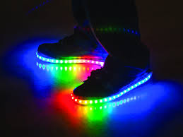 led light up shoes for adults luminous lowtops childhood lights and rainbows