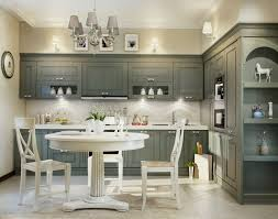 White And Wood Kitchen Table by Kitchen Luxury Traditional Kitchen Ideas With Small Grey Painted