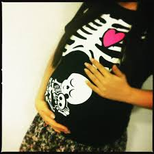 pregnant skeleton halloween shirt maternity skeleton halloween shirt